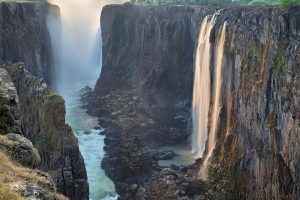 Victoria Waterfalls in Zambia